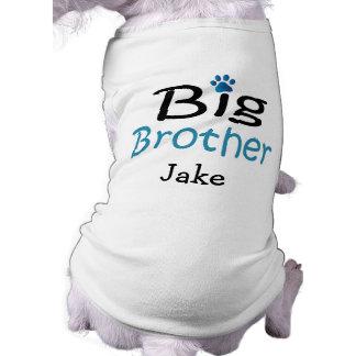 Camisa personalizada del mascota de hermano mayor