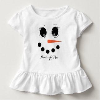 Camisa personalizada del volante del niño de
