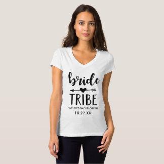 Camisa personalizada tribu de Bachelorette de la