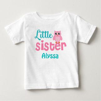 Camisa personalizada trullo del rosa de la pequeña