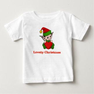 Camisa preciosa del bebé del corazón del duende