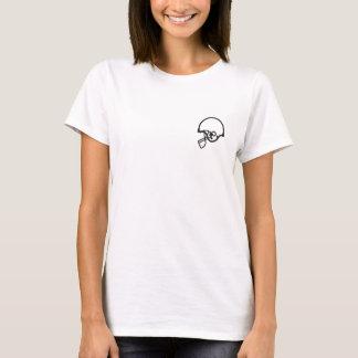Camiseta Camisa preferida Y de la luz del futbolista de la