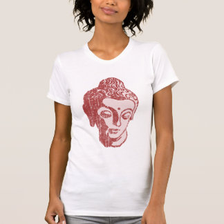 Camisa principal de Buda del tono del vintage 2