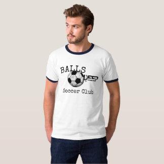 Camisa profunda del club del fútbol de las bolas