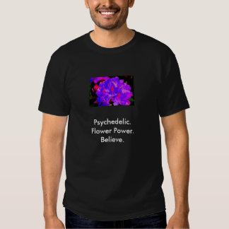 Camisa psicodélica del flower power