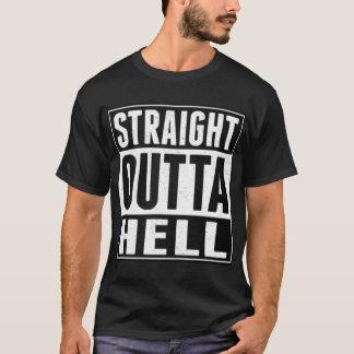 Camisa recta del infierno de Outta