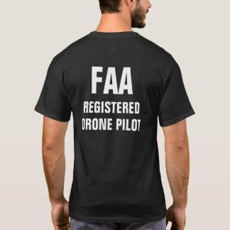 Camisa registradoa FAA del piloto del abejón