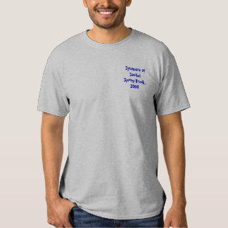 Camisa revisada de las vacaciones de primavera