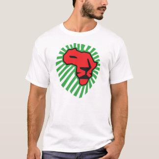 Camisa roja de Waka Waka África de la melena del