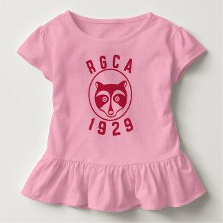 Camisa roja del niño del logotipo de RGCA