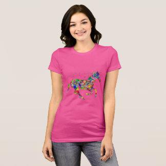 Camisa rosada del unicornio