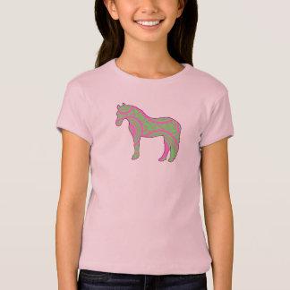 Camisa rosada y verde del potro de Paisley