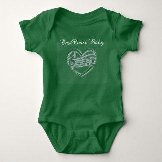 """Camisa """" ruta del bebé de la música del bebé de la"""