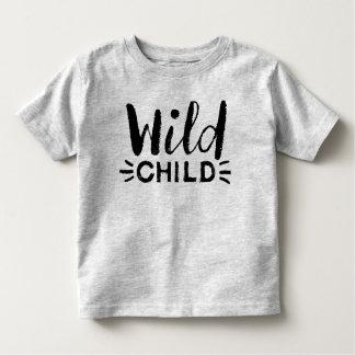 Camisa salvaje del niño del niño