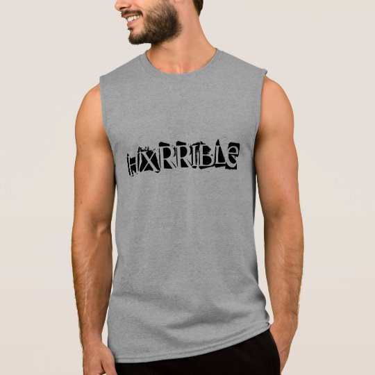 Camisa sin mangas de HXRRIBLE