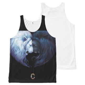 Camisa sin mangas del circo para Men&Women Camiseta De Tirantes Con Estampado Integral
