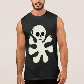 Camisa sin mangas del fantasma de la gota Trippy d