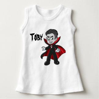 Camisa sin mangas del niño de Halloween