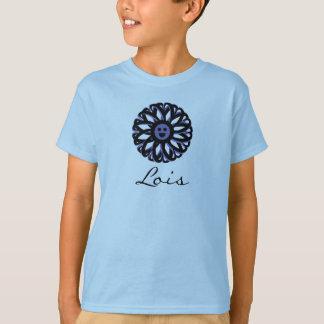 Camisa sonriente de la flor de Lois