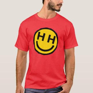Camisa sonriente incondicional feliz de la cara