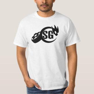 Camisa suave del blanco de Gripp