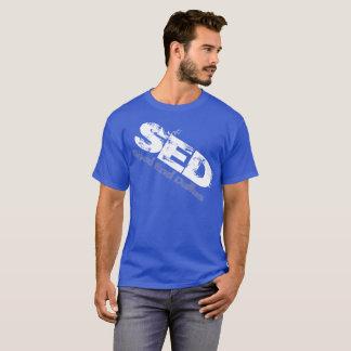 Camisa torcida gráfico del SED