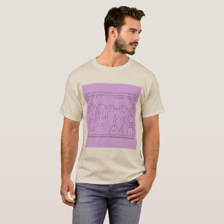 camisa unfitted del arte de tilde.town ASCII