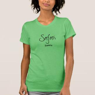 Camisa única del safari de Zambia - edición