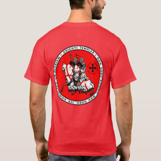 Camisa V1 del sello de los caballeros de Templar