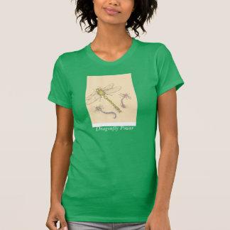 Camisa verde de la libélula