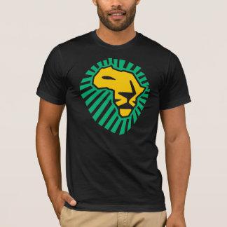 Camisa verde de los hombres amarillos de África de