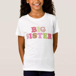 Camisa verde y rosada adorable de la hermana
