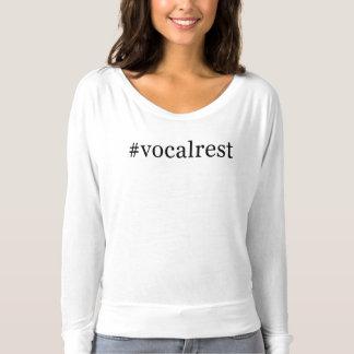 Camisa vocal moderna del resto de Hashtag