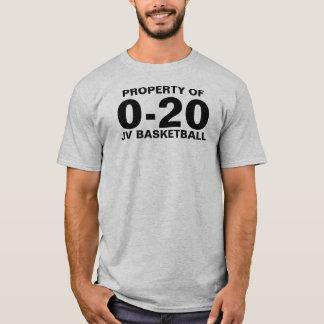 Camiseta 0-20 baloncesto