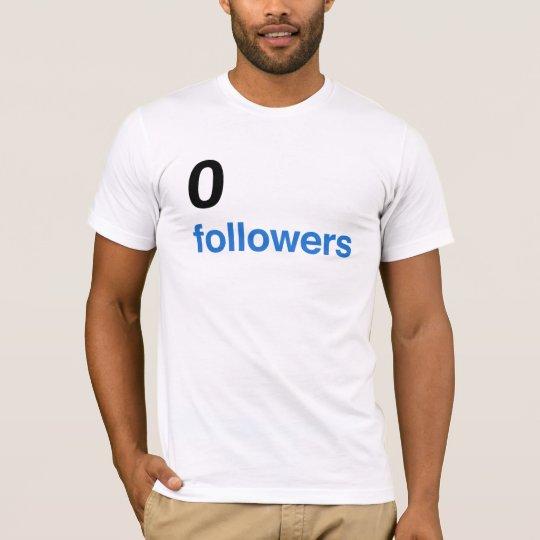 Camiseta 0 seguidores - BK