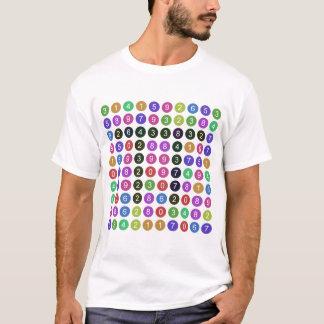 Camiseta 100 dígitos de pi
