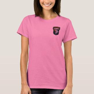 Camiseta 101o División aerotransportada de ABN que grita a