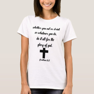 Camiseta 10:31 de los Corinthians