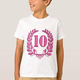 Camiseta 10 años