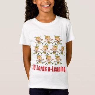 Camiseta 10 señores uno-Saltar T-shirt
