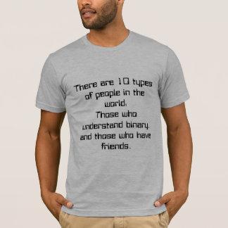 Camiseta 10 tipos de gente