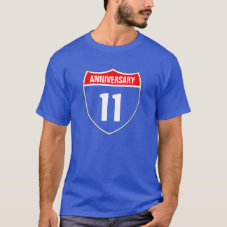 Camiseta 11mo Aniversario
