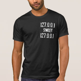 Camiseta 127.0.0.1, dulce, 127.0.0.1