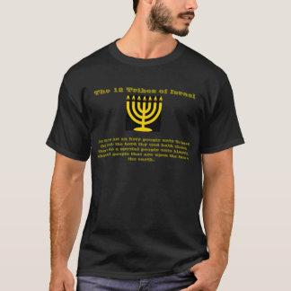 Camiseta 12 tribus de Israel