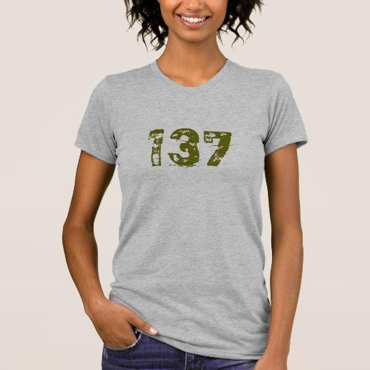 CAMISETA 137