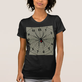 Camiseta 13 reloj de la araña de trece horas