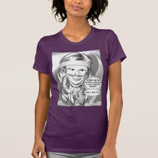 Camiseta 13a de la caricatura de la pena