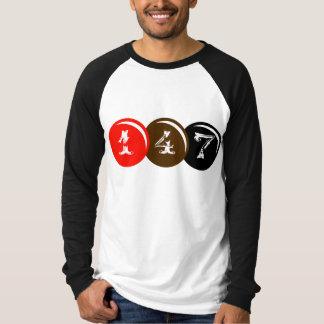 Camiseta 147 bolas del billar