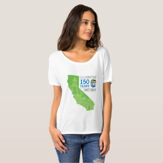 Camiseta 150o aniversario de Redwood City