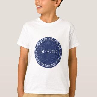 Camiseta 1517-2017 aniversario protestante de la reforma